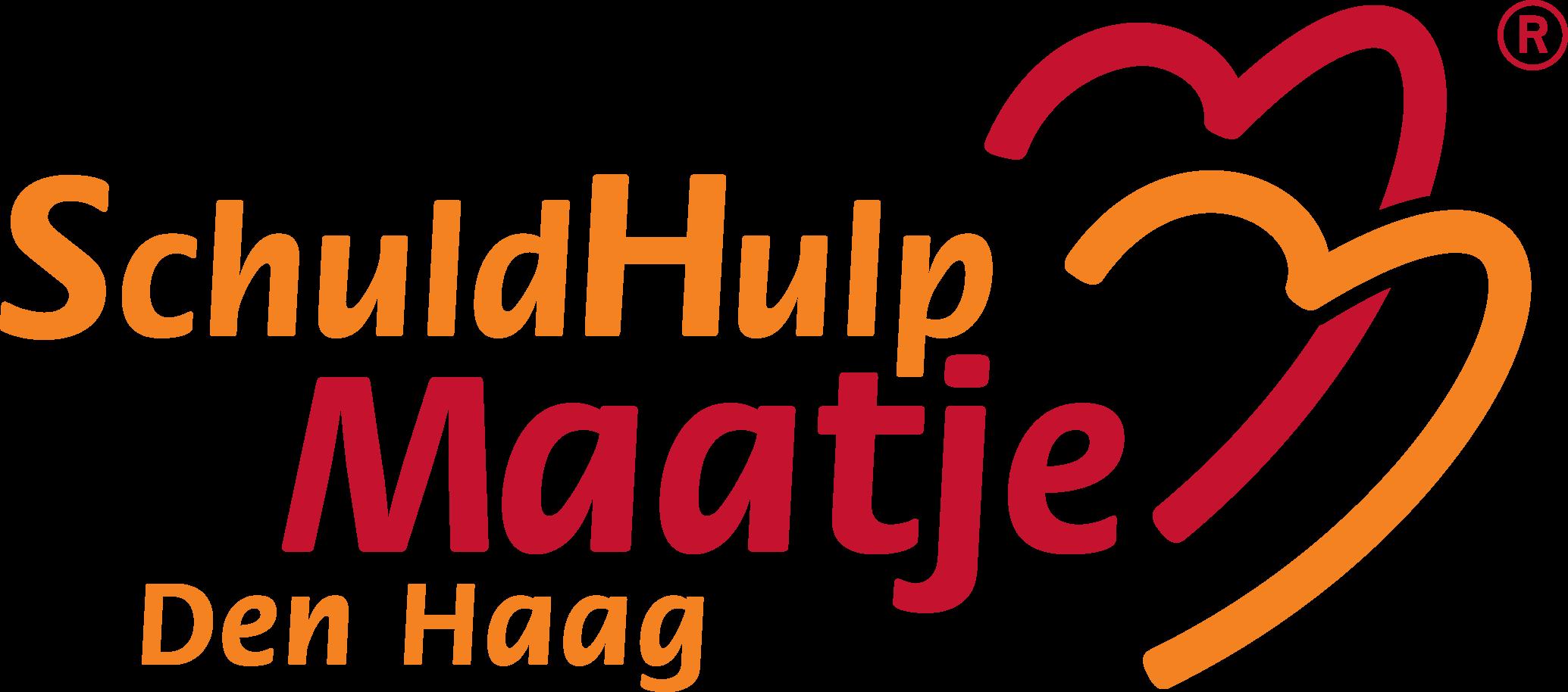 Het logo van stichting SchuldHulpMaatje Den Haag.